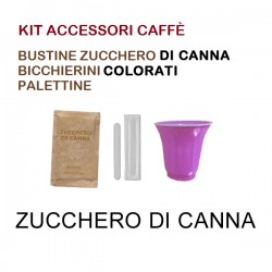 KIT ACCESSORI CAFFÈ con 150...